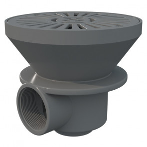 """Sumidero circular para piscina de hormigón abs salida 2"""" Astralpool"""