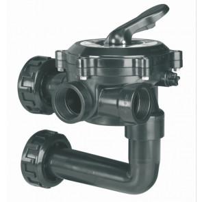 AstralPool válvula selectora piscina para filtros con conexión lateral con enlaces a filtro 34543