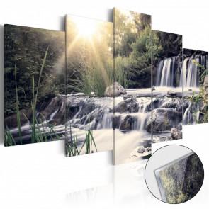 Cuadro acrílico Waterfall of Dreams Glass