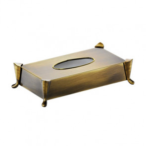 Caja Kleenex Pomd'or Windsor laton envejecido