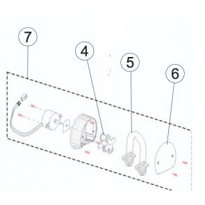 Astralpool motor de repuesto para dosificador de PH y Redox Control Basic 1,5 l/h 36002R0006