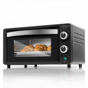 Horno de sobremesa eléctrico Bake&Toast 450, potencia 1000W, capacidad 10L, temperatura hasta 230ºC, tiempo hasta 60min, Cecotec
