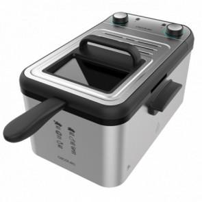 Freidora eléctrica CleanFry Infinity 3000 Full Inox Cecotec