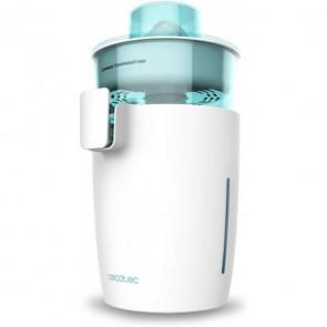 Exprimidor eléctrico de torre Zitrus TowerAdjust Easy White, potencia 350W, filtro regulador de pulpa, capacidad 0,5L, Cecotec