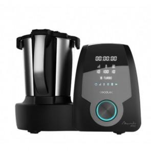 Robot de Cocina multifunción Mambo 9590, cuchara MamboMix, 30 funciones, báscula incorporada, recetario, Cecotec
