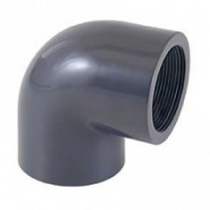 Codo PVC presión 90º encolar Cepex