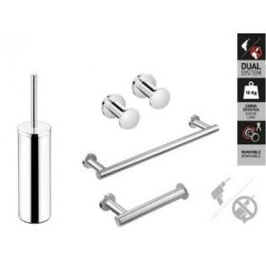 Pack accesorios de baño Cosmic Architect fijación dual