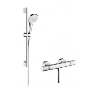Conjunto de ducha Select E Vario Ecostat Comfort Hansgrohe