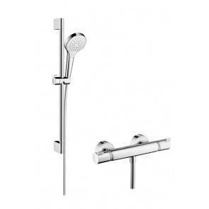 Conjunto de ducha Hansgrohe Croma Select S Vario Ecostat Comfort Combi termostático