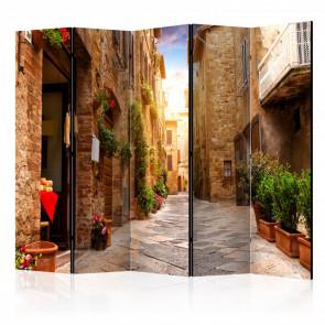 Biombo - Colourful Street in Tuscany II  225x172 CM