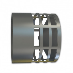 Deflector horizontal inox 80 FIG
