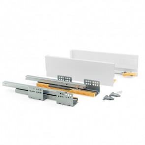 Kit de cajón para cocinar y baño modelo Concept 105 mm alto x 350 mm profundo Emuca