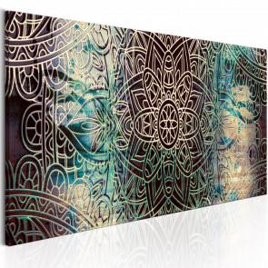 Cuadro Mandala Knot of Peace 150x50