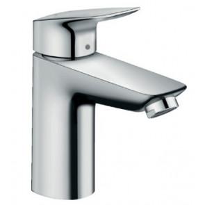 Grifo de lavabo 100 con vaciador Push-Open Hansgrohe Logis