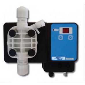Bomba dosificadora de membrana PH - 2 electromagnética completa Hidro Water
