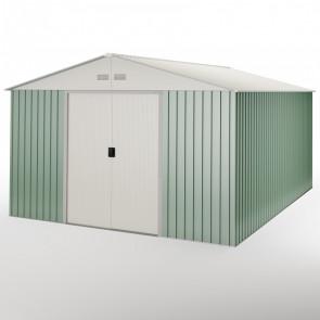 Caseta de jardín metálica Anjala 15,5m2