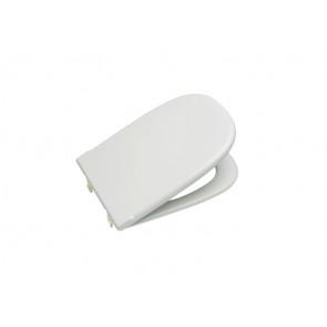 Tapa y asiento para inodoro con bisagras extraíbles Blanco Dama Retro Roca