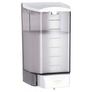 Mediclinics DJ0010F dosificador jabón ABS fumé / blanco 1,1L
