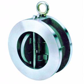 Válvula de retención inox de doble disco tipo wafer Genebre