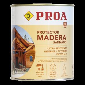 Lasur protector para madera al agua exterior 750ml Transparente
