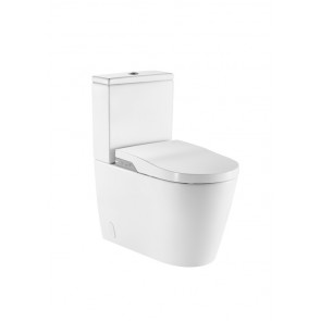 Inodoro Roca Smart Toilet In-Wash adosado a pared