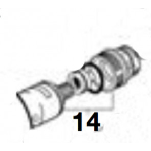 Kit desviador 2 vías + tuerca