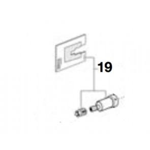Kit eje mando grifería termostático moai
