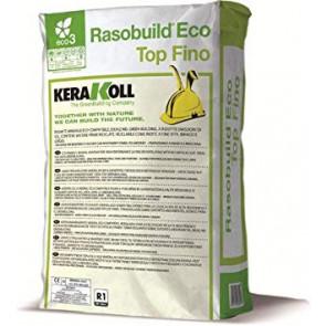 Mortero Kerakoll Rasobuild Eco Top Fino gris 25 kg