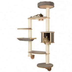 Kerbl Rascadores de pared para gato Dolomit XL Tofana 185cm gris 81541