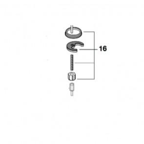 Kit complemento fijación M8x247 moai (recambio