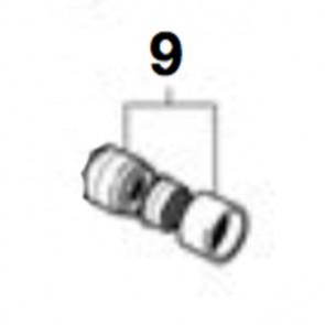 Kit enlace rótula + aireador M22