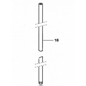 Kit tubo frontal 780 columna baño/ducha