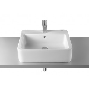 Lavabo Roca Element 55x46 blanco