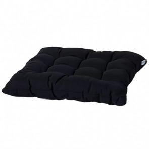 Madison Cojín para silla Panama 46x46 cm negro TOSCB223