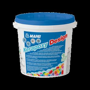 Mortero especial juntas Mapei Kerapoxy Design color blanco 3kg