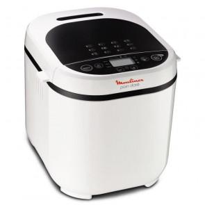 Máquina para hacer pan MOULINEX - OW210130 - Capacidad de 1 kg - Blanco