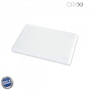 Tabla cortar polietileno 30x20x1,5 cm.  color blanco