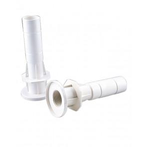 """Pasamuros con conexión posterior 2"""" rosca macho y liso interior ⦰ 50 mm para boquillas macho AstralPool"""