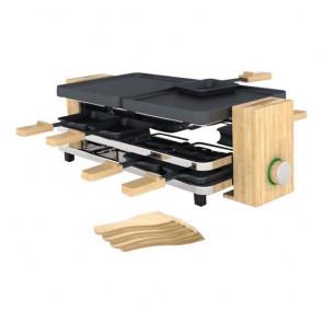 Raclette grill Pure 8 personas Bambú PRINCESS