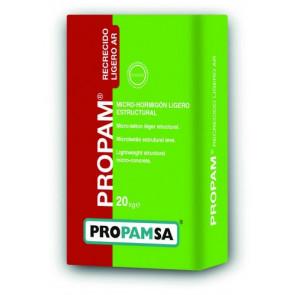 Micro-hormigón ligero Propam Recrecido Ligero AR 20 kg.