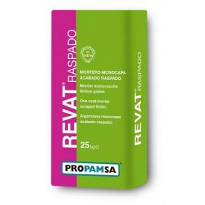 Revestimiento monocapa Propamsa Revat Raspado alabastro 25kg.