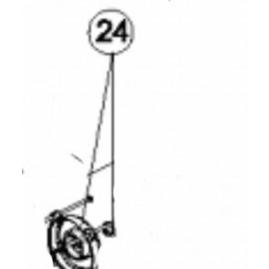 Tapa trasera motor 3/4 a 1