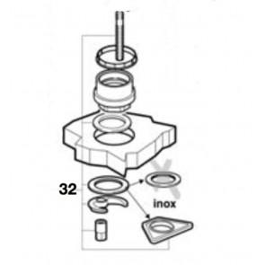 Kit fijación mezclador logica-n (recambio nº