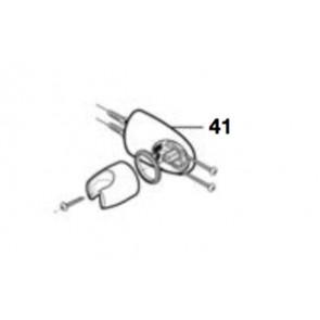 Kit soporte rotativo fijación ducha cromado