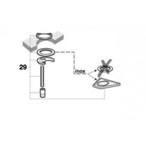Kit fijación fregadero M2 M8 logica-n