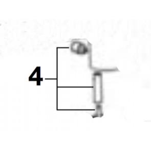 Kit pomo tirador D-A lavabo-bidé loft/L