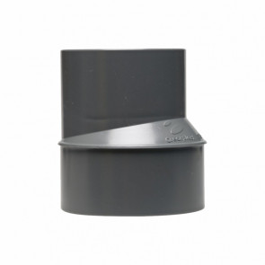Ampliación excéntrica desagüe M-H diámetro 90-50mm
