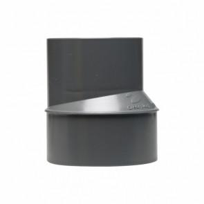 Ampliación excéntrica desagüe M-H diámetro 125-75mm