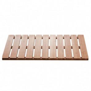 RIDDER Alfombra de baño Grating Nature de madera 72x38 cm