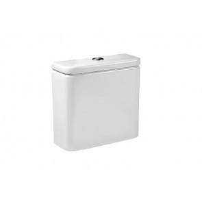 Roca tanque inodoro completo blanco DAMA-N compacto alimentación inferior